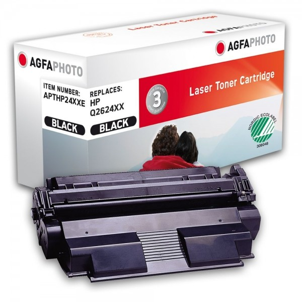 AGFA Photo Toner schwarz HP24XXE für HP LaserJet 1150