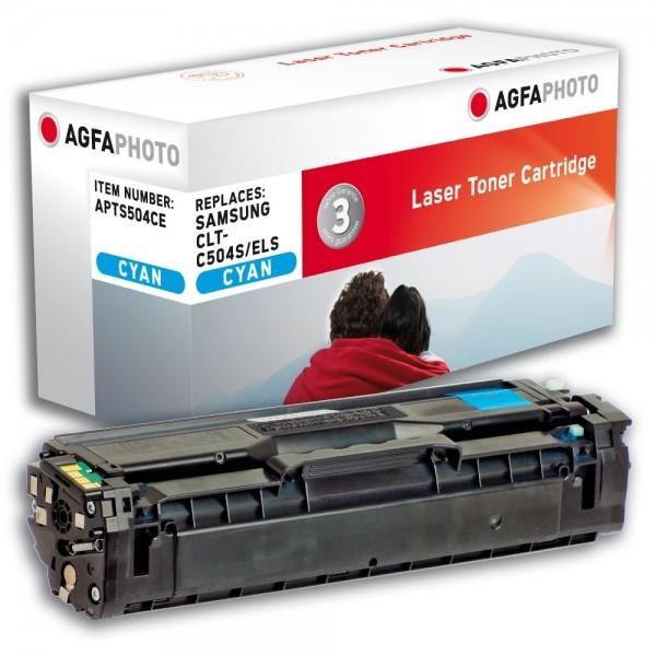 AGFA Photo Toner cyan 504CE für Samsung CLP-410 CLX-4100