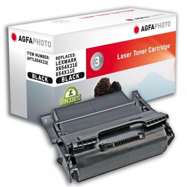 AGFA Photo Toner schwarz 654X21E für Lexmark X654 X656