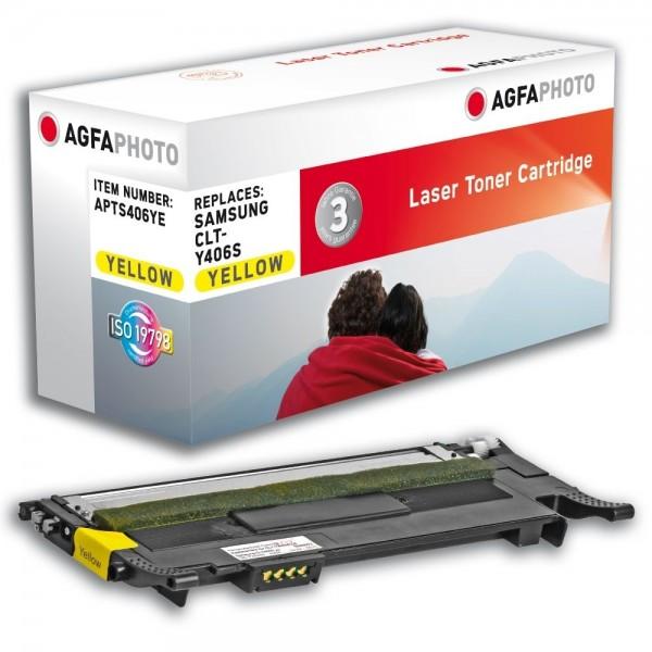 AGFA Photo Toner gelb 406YE Samsung CLP-360 365 CLX-3300 3305 C410 C460