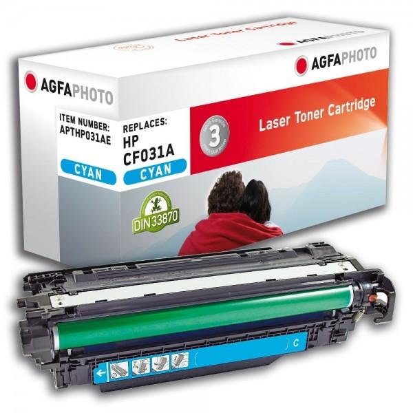AGFA Photo Toner Cyan HP031AE für HP LaserJet Enterprise CM4540