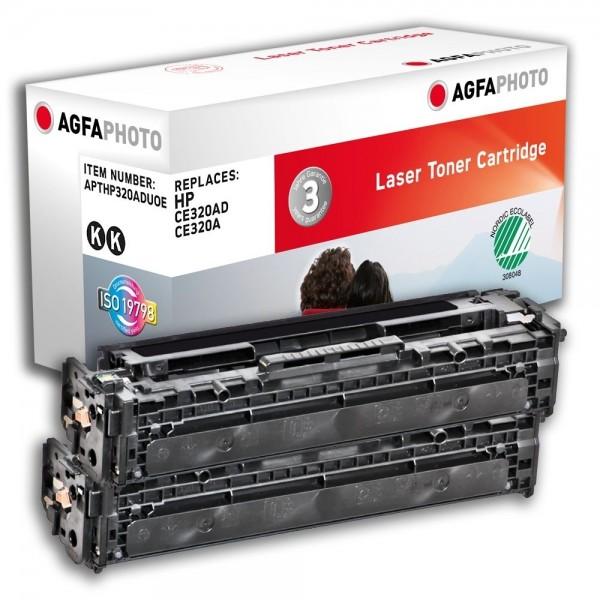 AGFA Photo Toner schwarz HP320ADUOE für HP Color LaserJet PRO CM1400 Series