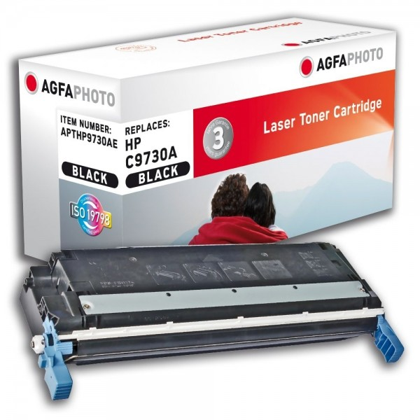AGFA Photo Toner schwarz HP9730AE für HP Color LaserJet 5500 Series