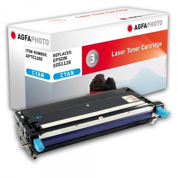 AGFA Photo Toner cyan 126E für Epson Aculaser C3800 S051126