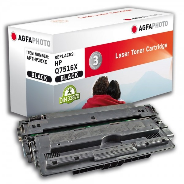 AGFA Photo Toner schwarz HP16XE für HP LaserJet 5200 Series