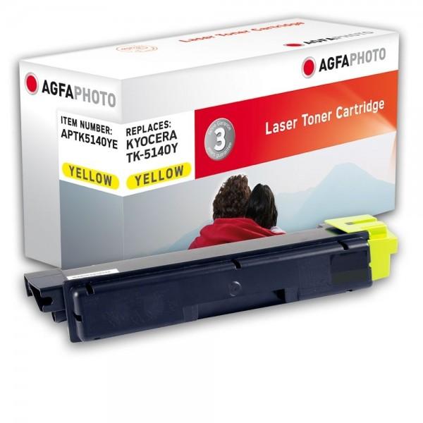 AGFA Photo Toner gelb TK-5140YE Kyocera Ecosys M6030 M6530 P6130