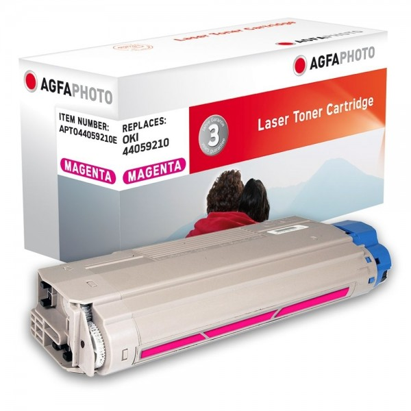 AGFA Photo Toner magenta 44059210E für OKI MC860
