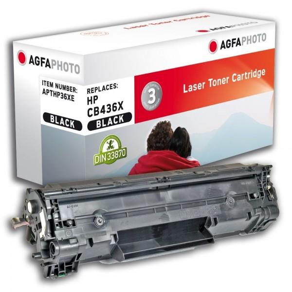 AGFA Photo Toner Schwarz HP36XE HP LaserJet M1120A M1522 P1503 P1504 P1505 P1506