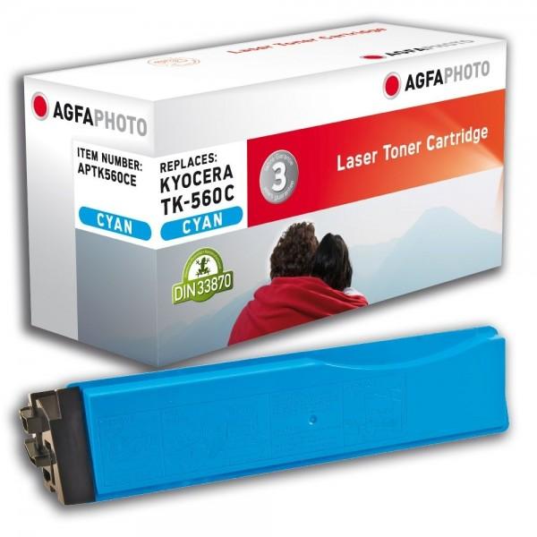 AGFA Photo Toner cyan TK-560CE für Kyocera FS-C5300 FS-C5350