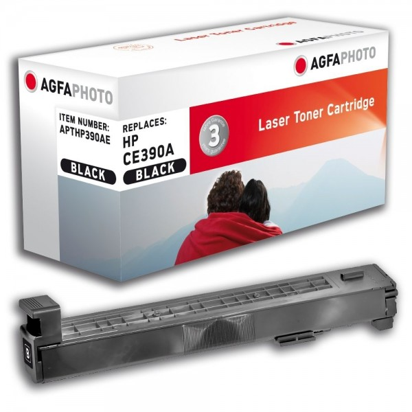AGFA Photo Toner schwarz HP390AE HP LaserJet Enterprise 600 M601 M602 M603 M4555