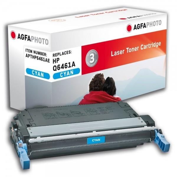 AGFA Photo Toner cyan HP6461AE für HP Color LaserJet 4730 Series