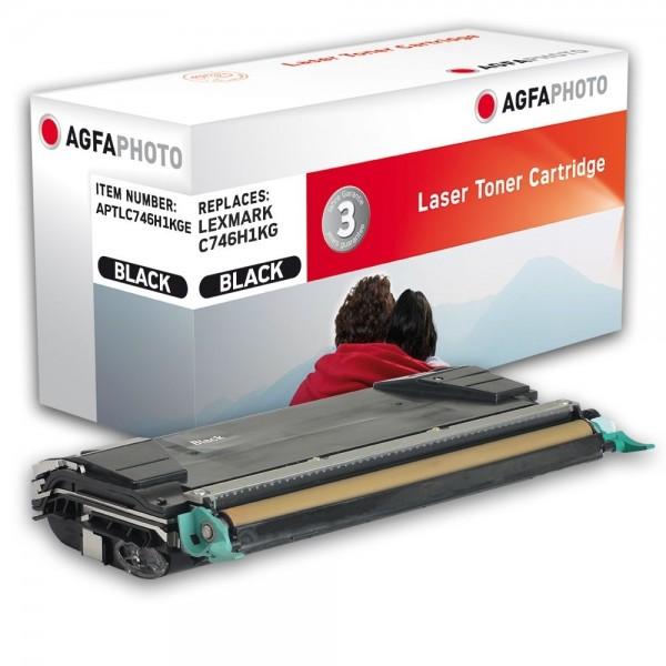 AGFA Photo Toner schwarz C746H1KGE für Lexmark C746 C748