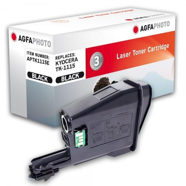 AGFA Photo Toner schwarz TK-1115E für Kyocera FS-1041 FS-1220MFP FS-1320MFP
