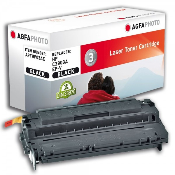 AGFA Photo Toner schwarz HP03AE für HP LaserJet 5 LaserJet 6