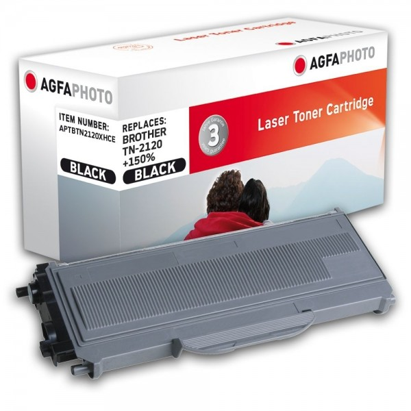 AGFA Photo Toner schwarz TN-2120XHCE für Brother HL-2140 HL-2150 HL-2170