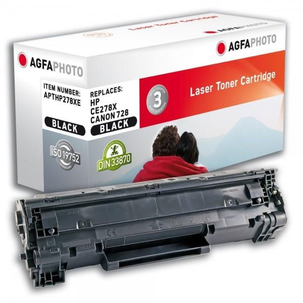 AGFA Photo Toner schwarz HP278XE für HP LaserJet P1566