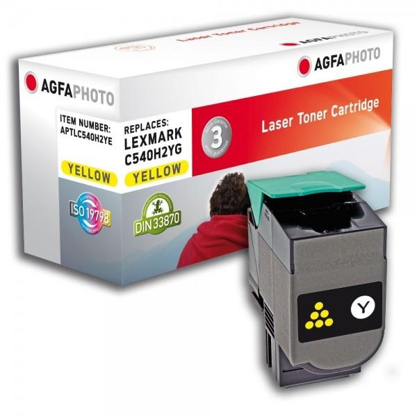 AGFA Photo Toner gelb C540H2YE für Lexmark C540