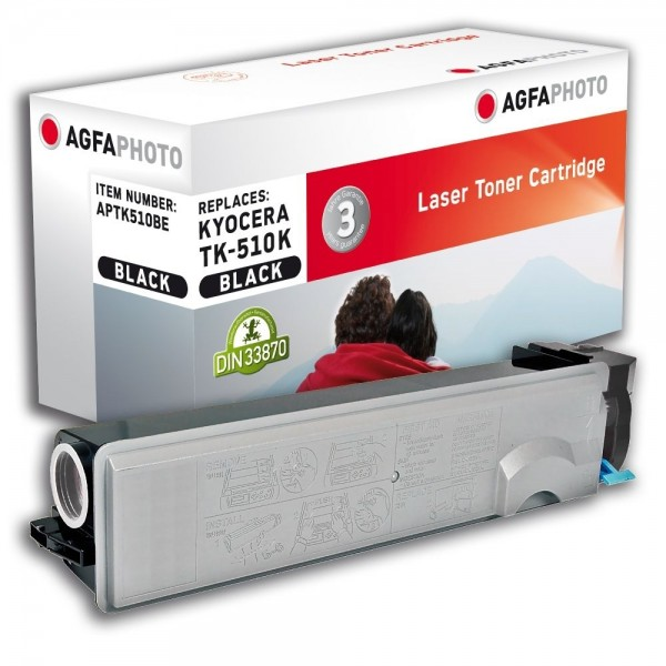 AGFA Photo Toner schwarz TK-510BE für Kyocera FS-C5020 FS-C5030