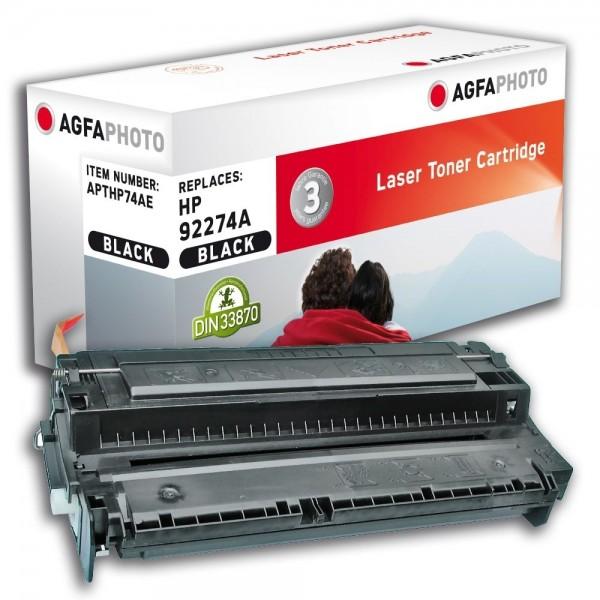 AGFA Photo Toner schwarz HP74AE für HP LaserJet 4L