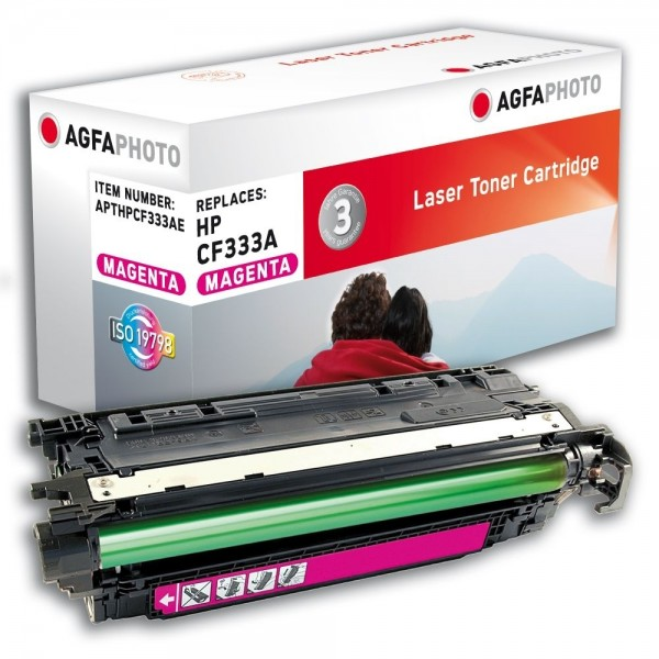 AGFA Photo Toner magenta HPCF333AE für HP Color LaserJet Enterprise M651dn