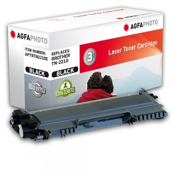 AGFA Photo Toner schwarz TN-2210E für Brother HL-2240