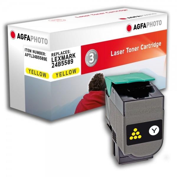 AGFA Photo Toner gelb 24B5589E für Lexmark XS 544, XS 548
