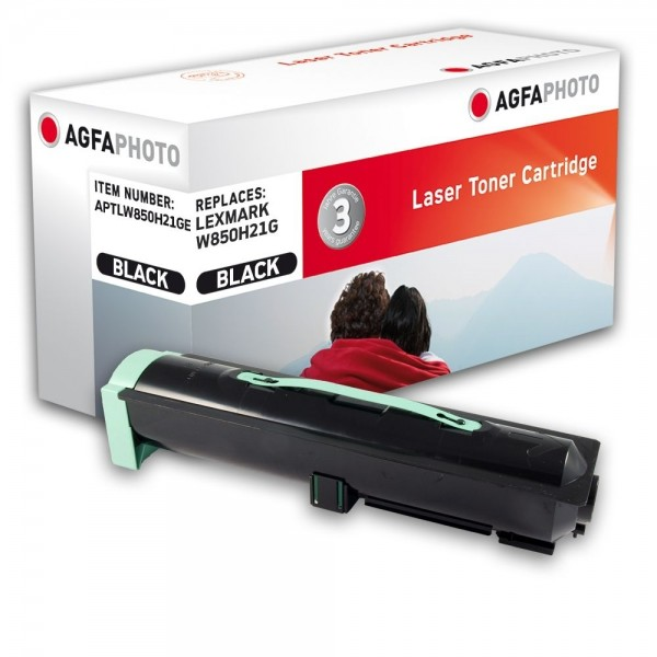 AGFA Photo Toner schwarz W850H21GE für Lexmark W850