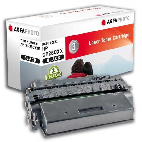 AGFA Photo Toner schwarz HP280XXE für HP LaserJet PRO 400 M401A