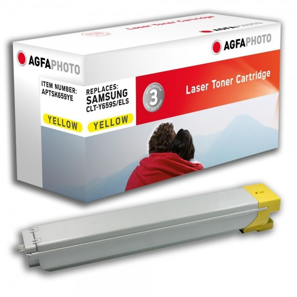 AGFA Photo Toner gelb K659YE Samsung CLX-8640 MultiXpress C8650ND