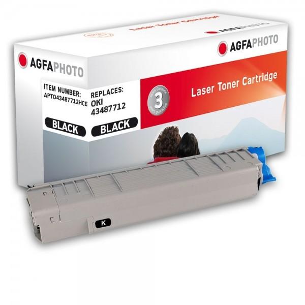 AGFA Photo Toner schwarz 43487712HC für OKI C8600 C8800
