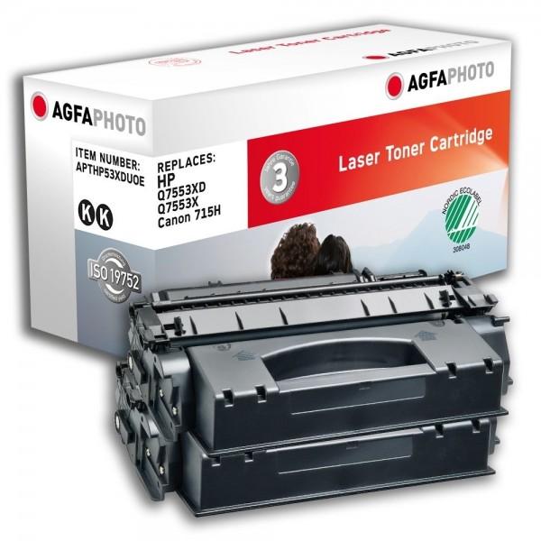 AGFA Photo Toner schwarz HP53XDUOE für HP LaserJet M2700 Series