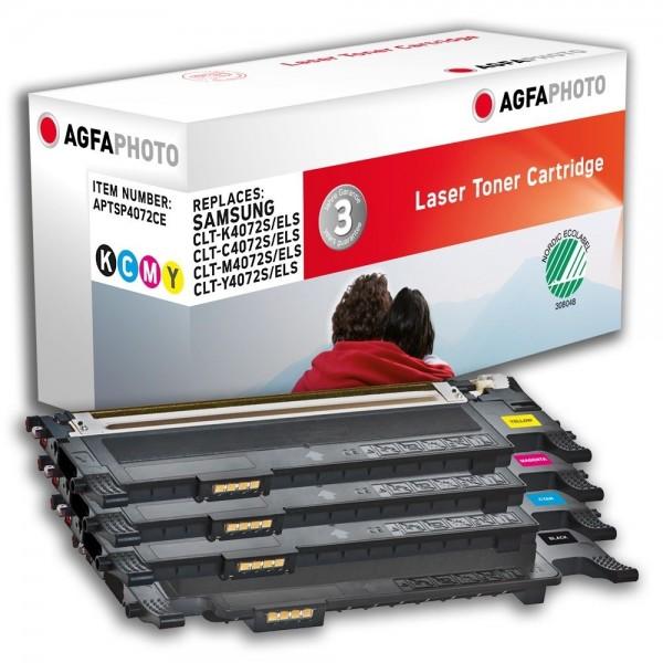 AGFA Photo Toner Multipack P4072CE für Samsung CLP-320 CLX-3180