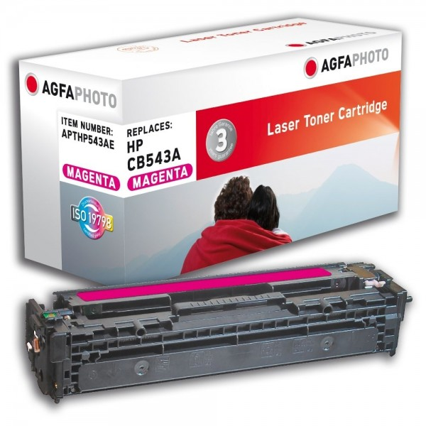 AGFA Photo Toner magenta HP543AE für HP Color LaserJet CM1300 Series