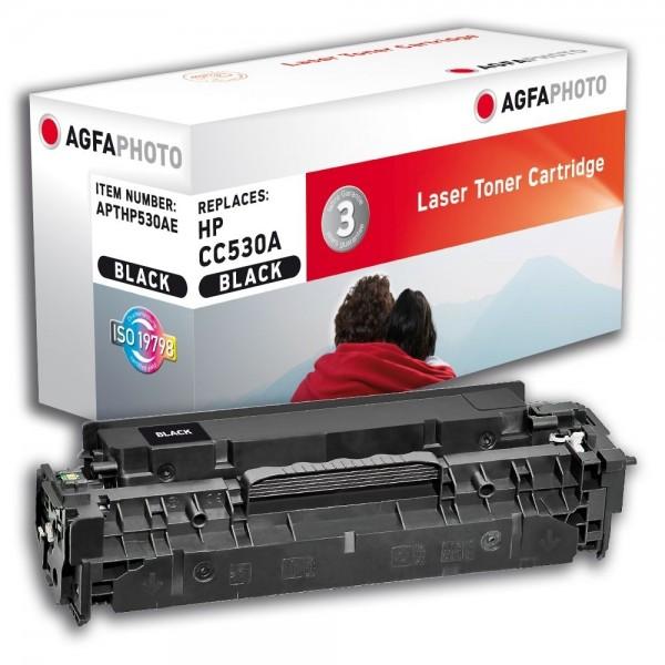 AGFA Photo Toner schwarz HP530AE für HP Color LaserJet CM2300 Series