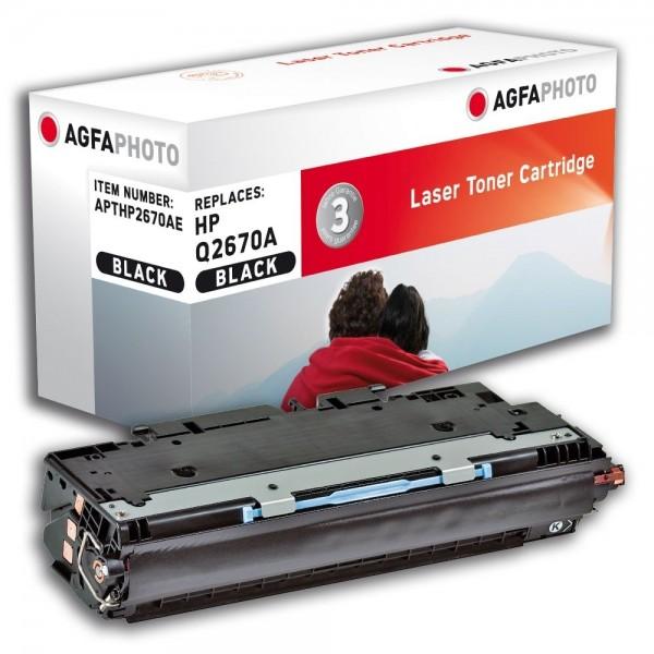AGFA Photo Toner schwarz HP2670AE für HP Color LaserJet 3500