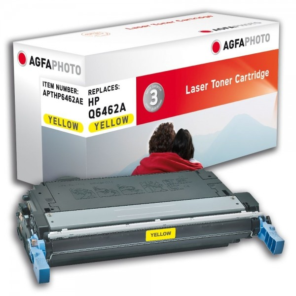 AGFA Photo Toner gelb HP6462AE für HP Color LaserJet 4730 Series