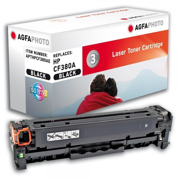 AGFA Photo Toner schwarz 312A HPCF380AE HP Color LaserJet PRO MFP M476