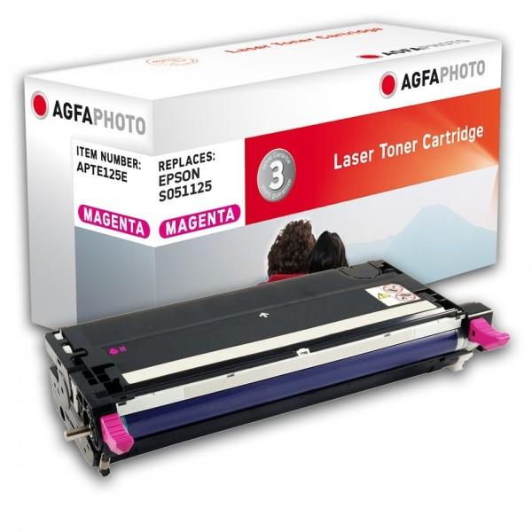 AGFA Photo Toner magenta 125E für Epson Aculaser C3800 S051125