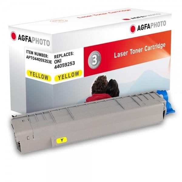 AGFA Photo Toner gelb 44059253E für OKI MC861 MC862