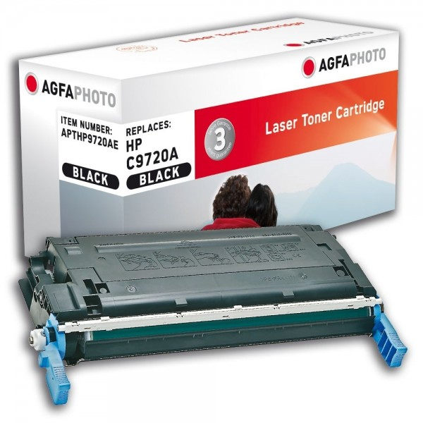 AGFA Photo Toner schwarz HP9720AE für HP Color LaserJet 4600