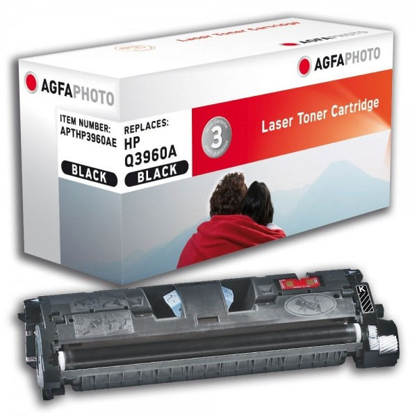 AGFA Photo Toner Schwarz HP3960AE HP Color LaserJet 2550 2820 2840