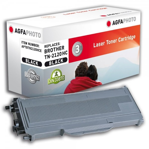 AGFA Photo Toner schwarz TN-2120HCE für Brother HL-2140 HL-2150 HL-2170