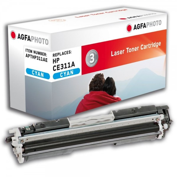 AGFA Photo Toner cyan HP311AE für HP Color LaserJet PRO CP1000 Series