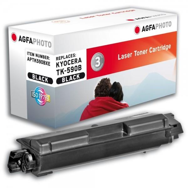 AGFA Photo Toner schwarz TK-590BXE für Kyocera FS-C2026 FS-C2126