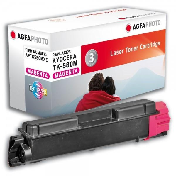AGFA Photo Toner magenta TK-580MXE für Kyocera FS-C5150