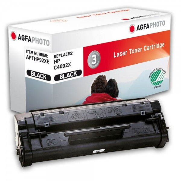 AGFA Photo Toner schwarz HP92XE für HP LaserJet 1100 LaserJet 3200