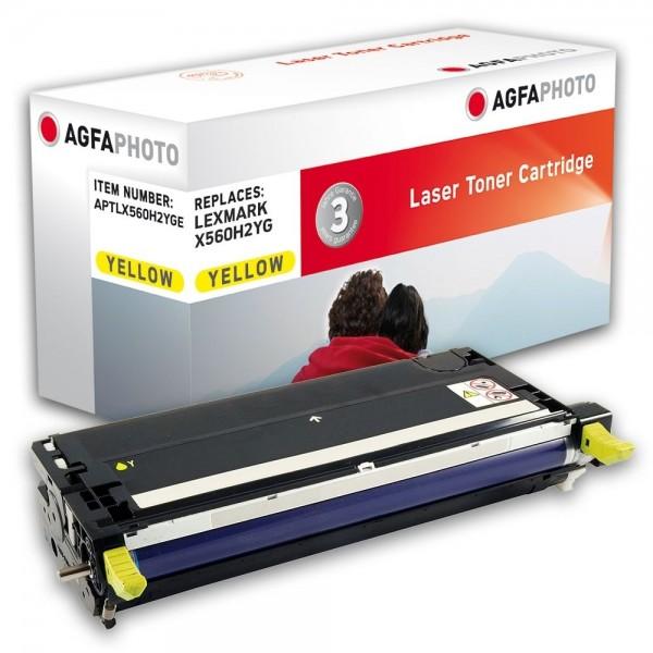 AGFA Photo Toner gelb X560H2YGE für Lexmark X560