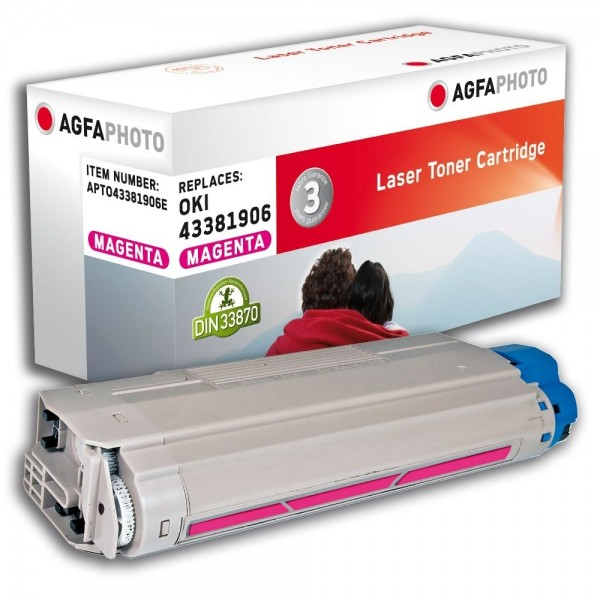 AGFA Photo Toner magenta 43381906E für Oki Data C5600 C5700