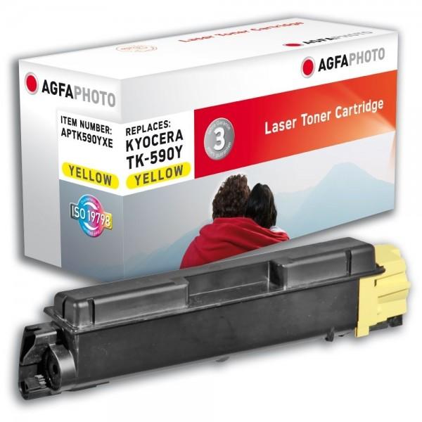 AGFA Photo Toner gelb TK-590YXE für Kyocera FS-C2026 FS-C2126