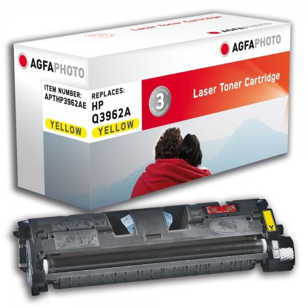 AGFA Photo Toner Gelb HP3962AE HP Color LaserJet 2550 2820 2840